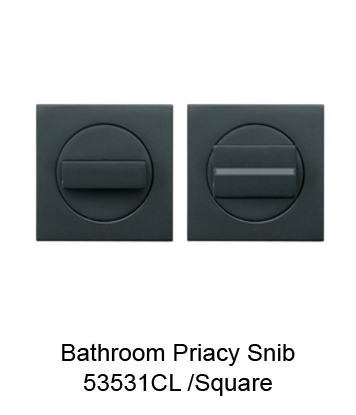 53531CL Bathroom Privacy Snib Set